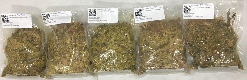 LEAP samples